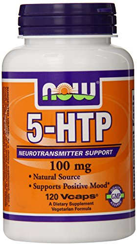 NOW Foods 5-HTP 100mg, 120 VCaps (Now Foods Positive compare prices)