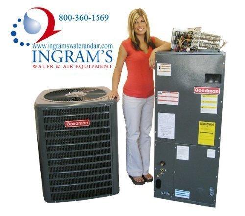 Goodman R410A 14 SEER Complete Split System Heat Pump 4 Ton SSZ140481, ARUF48D14, TXV5N4 (4 Ton Heat Pump System compare prices)