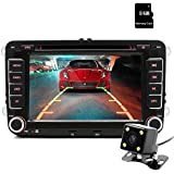 "Junsun 7"" Touchscreen In Dash Double Din GPS Navigation Vehicle Car Dvd Player Stereo Radio Bluetooth USB GPS Navigation Free Camera And Map"