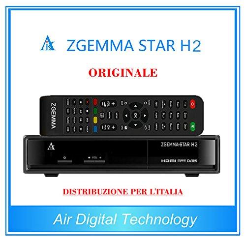 Zgemma Star H2 Decoder per TV Terrestre e Satellitare con tuner DVB-S2 e DVB-T2 Samsung