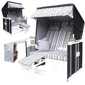 wohnwerk strandkorb ostsee de luxe fix fertig aufgebaut lieferung per. Black Bedroom Furniture Sets. Home Design Ideas