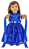 HBB Doll Dress Clothes Fits American Girl Doll, Madame Alexander, Target's and Other 18 Inches…