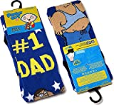 Mens Best Ever Family Guy Peter Griffin Number One Dad Socks UK UK Size 9-12