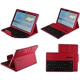 eTopxizu Samsung Galaxy Note PRO & Tab PRO 12.2 Keyboard Case - DETACHABLE Romovable Bluetooth Keyboard Stand Case / Cover for Samsung Galaxy Note Pro P900 / P901 & Tab PRO 12.2 Inch SM-T900 / T905 Tablet - Red