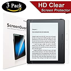 [3 Pack] Kindle Oasis HD Screen Protector, SPARIN Screen Protector for Kindle Oasis with [Scratch Resist] [ Bubble Free] [Premium Clear] [Anti-Glare] [Anti Fingerprint]
