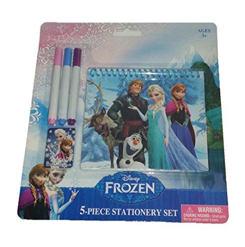 Disney Frozen 5PC STATIONERY SET