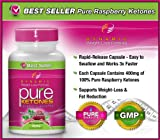 #1 PURE KETONES Raspberry Ketones, 400 mg Per Serving, 60 Vegetarian Capsules. 100% Pure All Natural Lean Weight Loss Appetite Suppressant Supplement for Men and Women. Max Pure Raspberry Ketones Per Capsule. Full Double-Strength 30-Day Supply.