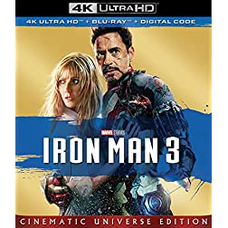 IRON MAN 3 [4K Ultra HD + Blu-ray]