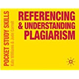 Referencing and Understanding Plagiarism (Pocket Study Skills)by Kate Williams