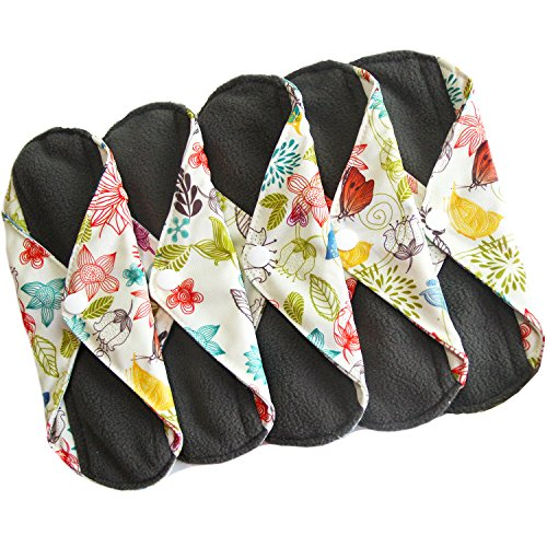 heart-felt-bamboo-reusable-cloth-menstrual-pads-5-pack-light-flow-with-charcoal-absorbency-layer-was