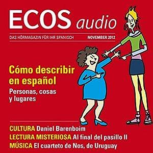ECOS audio - Cómo describir en español. 11/2012 Hörbuch