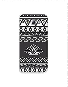 Samsung Galaxy E7 nkt02 (75) Mobile Case by Mott2 - Black and White Soothing ... (Limited Time Offers,Please Check the Details Below)