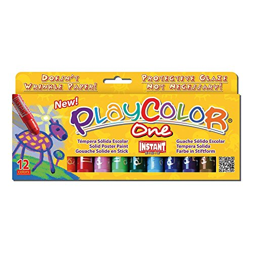playcolor-basic-one-10g-solid-poster-paint-stick-pack-of-12-assorted-colours