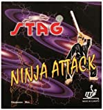 Stag Ninja Attack Table Tennis Rubber (Red)