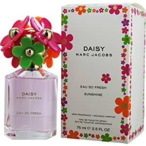 Marc Jacobs Eau de Toilette Spray, Daisy So Fresh Sunshine, 2.5 Ounce