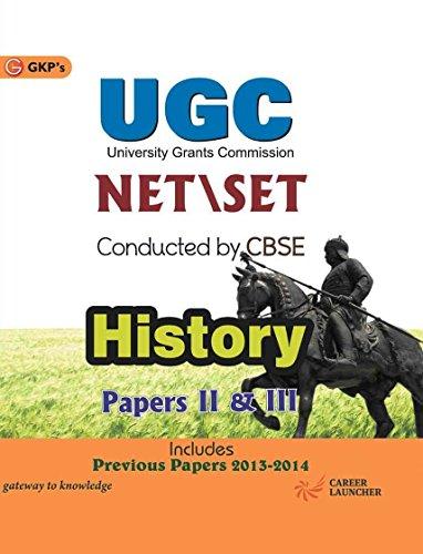 UGC NET/Set History Part II & III