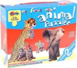 Grafix My First Real Animal Puzzles 2 Puzzles Baby Toy present gift