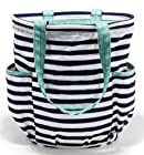 Thirty-one Bags Retro Metro® Bag in Navy Wave RV$55