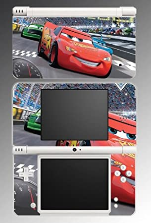 Cars 2 Lightning Racing Movie Game Vinyl Decal Cover Skin Protector #3 for Nintendo DSi XL