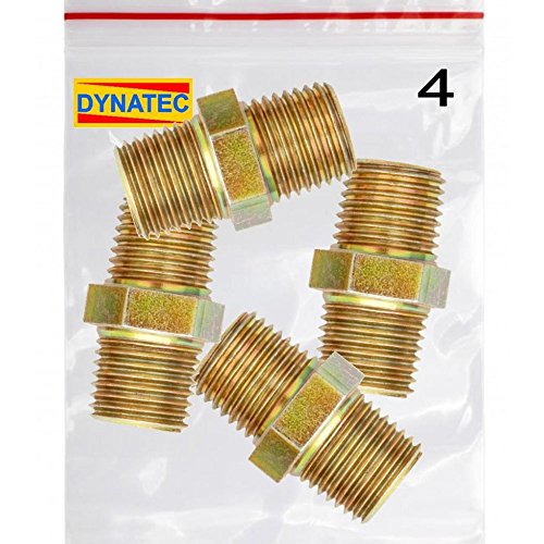 4-air-line-connector-equal-union-double-male-hose-adaptor-1-4-inch-bsp-fitting-fmtdc22x4