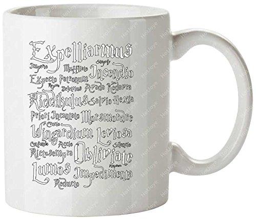 Magic Spells Gandalf Wizard Harry Potter Jk Rowling Voldemort Potter Ravenclaw Slytherin Quidditch Gryffindor Hogwarts Mug Cup Cool Cup