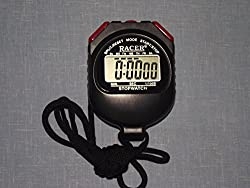 Texla Scientific Instruments Plastic Racer Digital Stop Watch