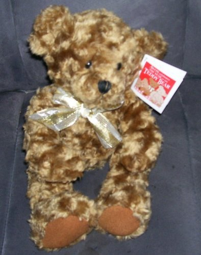 Avon 100th Anniversary Electronic Talking Teddy Bear From 2002 - 1