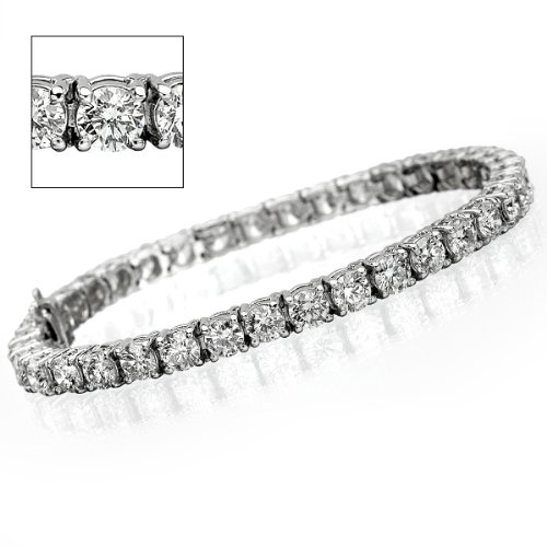 15 ct Round Diamond Tennis Bracelet – VS1/2