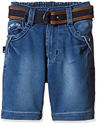 Seals Boys' Shorts (AM8076_1_BLUE_2)