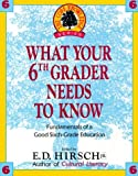What Your 6th Grader Needs to Know: Fundamentals of a Good Sixth-Grade Education (Core Knowledge)