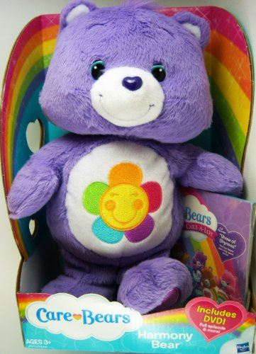 Care Bears Classic Plush Harmony Bear 2012  DVD