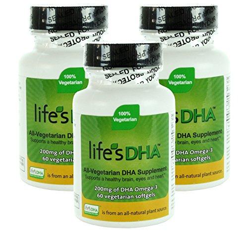 Martek Life's DHA 200mg All-Vegetarian Softgels, 60 Count - 1
