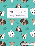 July 2018 - June 2019 Calendar: Two Year - 12 Months Daily Weekly Monthly Calendar Planner For Academic Agenda Schedule Organizer Logbook and Planner 2018-2019 8.5 x 11 (Volume 12)