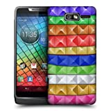 Head Case Studs Arm Candy Design Glossy Hard Back Case For Motorola Razr I Xt890
