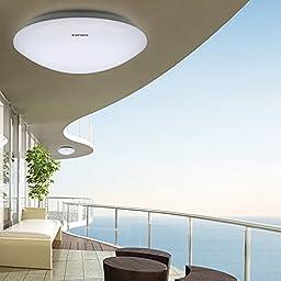 OAGTECH LED Acrylic Ceiling Light Indoor Bedroom kitchen Corridor White Lamp (Watt 24W)