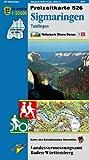 Sigmaringen, Tuttlingen: Karte des Schwäbischen Albvereins (Freizeitkarten 1:50000)