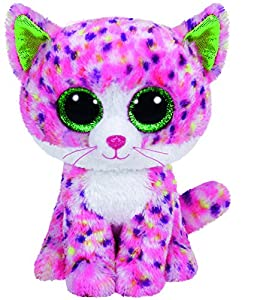 TY Beanie Boo Plush - Sophie the Pink Cat 15cm