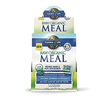 Garden Of Life Raw Organic Meal Vanilla 10 Cnt Tray 658010116138