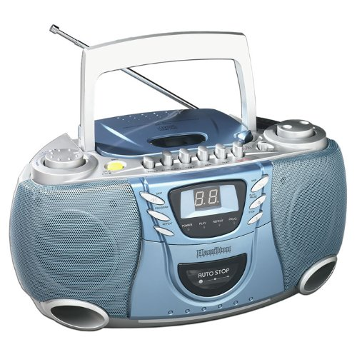 Portable CD Player with Cassette and Radio
