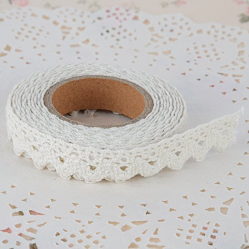 diy-self-adhesive-lace-washi-tape-trim-ribbon-cotton-fabric-tape-decor-craft-white