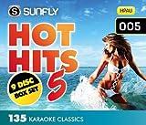 Sunfly Karaoke Sunfly Hot Hits 5 (9 Discs) Karaoke CDG