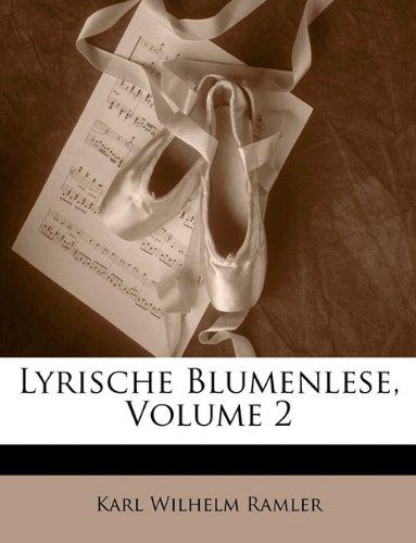 Lyrische Blumenlese, II Band