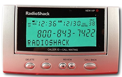 Radio Shack, Caller Id/call Waiting Id Box (Caller Id Display compare prices)