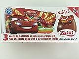 1 x Zaini Disney Cars chocolate egg - 3 per box- Made in ITALY by N/A