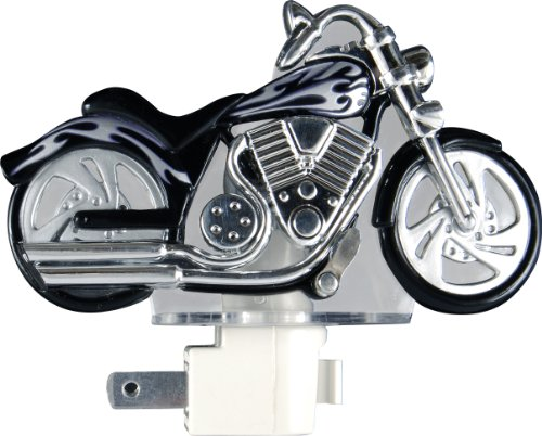 Ge Light Sensing Led Night Light, Motorcycle