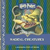 img - for harry potter: magical creatures hanging pop-up book / textbook / text book