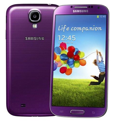 Samsung Galaxy S4 Mini GT-i9192 Purple Factory Unlocked Dual Sim Android Phone (Samsung Galaxy S4 Tmobile Mini compare prices)