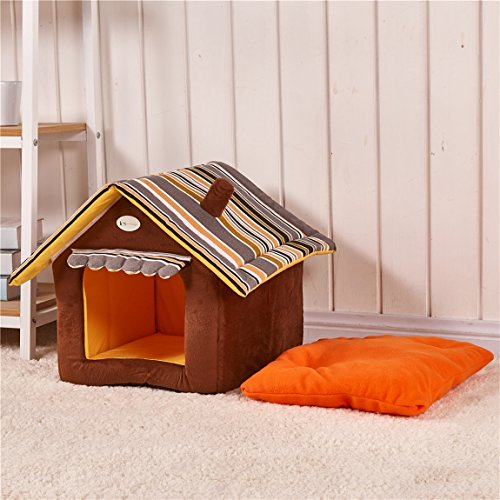 BigBig-Home-Cute-House-Shaped-Puppy-Bed-Dog-Bed-Cat-House-Modern-Decorative-Design-Washable-Soft-and-Comfortable-S-L