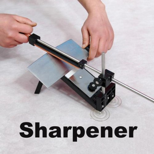 Kitchen Professional Fix-Angle Sharpening Cutlery Knife Sharpener System
