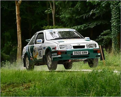 Photographic Print of CM8 7084 Duncan Waite, Ford Sierra Cosworth